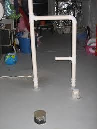basement plumming rough in plumbing diy home improvement
