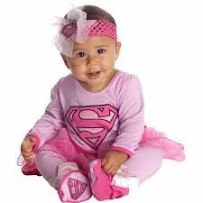 Infant Halloween Costume Ideas 0 3 Months Supergirl Onesie Infant Halloween Costume Walmart