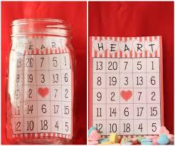valentine u0027s day bingo jars
