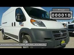 robinson chrysler dodge jeep ram 2018 ram promaster cargo torrance ca 3180246