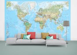 Map Wallpaper Environmental World Map Wallpaper