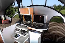 Teardrop Camper With Bathroom Alto Safari Condo Is A High Tech And Lightweight Teardrop Trailer