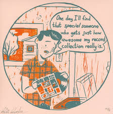 Vinyl Meme - record collectors are hopeful romantics vinyl