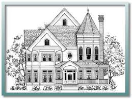 queen anne victorian home plans old victorian house plans