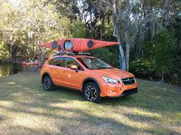 subaru crosstrek rally front and back crosstrek tie down locations for sea kayak
