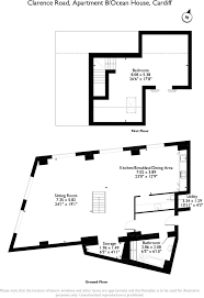 Clarence House Floor Plan by 1 Bedroom Apartment For Sale In Clarence Road Cardiff South