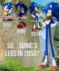 Sonic Meme - sonic s legs in 2050 weknowmemes