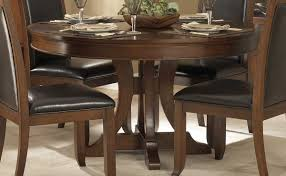 Round Cherry Kitchen Table by Homelegance Avalon Round Pedestal Dining Table 1205 54