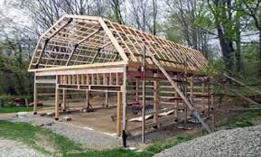 Modified A Frame House How To Build A Modified Post And Beam Frame House