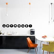 sticker pour cuisine lot de 8 stickers pour cuisine thème ustensiles et accessoires