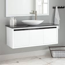 black white vanity signature hardware