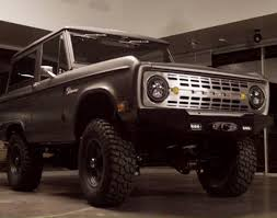 icon bronco ford icon bronco short documentary by william bradford
