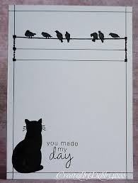 34 best handmade cards cats images on cat cards