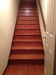Stair Laminate Flooring After Pic Hardwood Staircase Installation Cherry Atlanta Ga