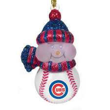 cc sports decor pack of 4 mlb chicago cubs led lighted baseball