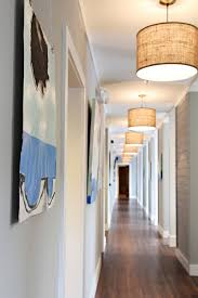 astonishing hanging lights for hallway using warm white led bulbs