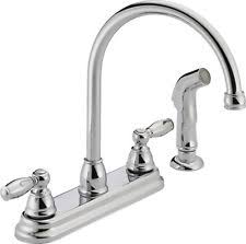 two handle kitchen faucet peerless two handle kitchen faucet with side sprayer chrome