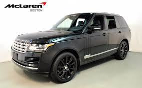 used range rover for sale 2014 land rover range rover supercharged ebony edition for sale in