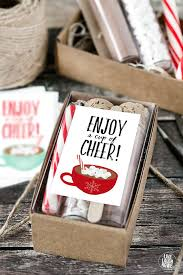 hot chocolate gift ideas cup of cheer printable hot chocolate gift idea scrap booking