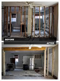 How To Remove Load Bearing Interior Wall Removing Load Bearing Walls U2013 Northern Oak Group Inc