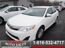2014 toyota camry price sold 2014 toyota camry le in grandville