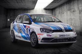 volkswagen ameo volkswagen ameo cup race car produces 205 ps of power shifting gears