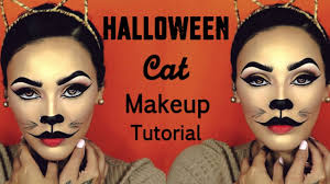 halloween cat makeup halloween cat makeup tutorial viva glam kay youtube