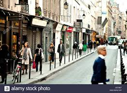 street view in le marais paris ile de france france europe