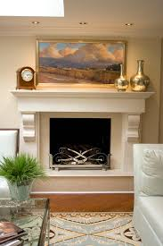great decorative fireplace screens painted decorating ideas