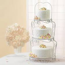 cake tiers wilton 307 841 graceful tiers cake display