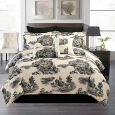 Ideas For Toile Quilt Design Bedroom Awesome Toile Bedding For Your Bedroom Design Ideas