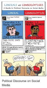 Meme Guide - liberals vs conservatives a guide to political discourse on social
