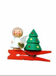 german mini wooden handcarved ornament tree