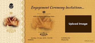 Hindu Engagement Invitations Best Online Engagement Invitation Cards Free 78 With Additional