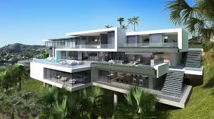 Mansions by Luxury Ultramodern Mansions On Sunset Plaza Drive In Los Angeles