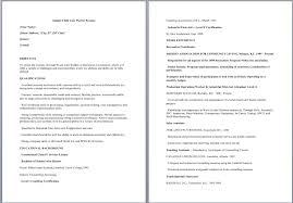 sample resume for kids gallery creawizard com