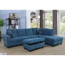 blue sectional sofas you u0027ll love wayfair