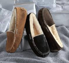 ugg moccasin slippers sale chilly treat them to cozy ugg slippers the bedding snob