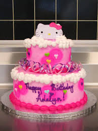 special cakes kitty birthday cakes decoration