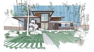 Home Design Sketchbook Perspective Architectural Rendering Using Autodesk Sketchbook For