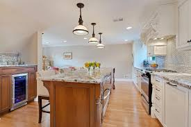 mission style kitchen island off white and cherry kitchen point pleasant new jersey by design