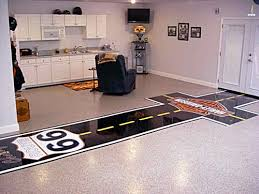 painted floor garage ideas garage pinterest garage ideas