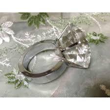 metal crystal ring holder images Holders 48 crystal diamond gem silver napkin ring bling crystal jpg