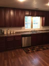 Cherry Glaze Cabinets Medium Brown Kitchen Cabinets Pre Assembled U0026 Ready To Assemble