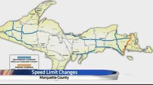 Map Of Upper Michigan by List Where Speed Limits Are Increasing In Upper Michigan