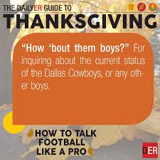 thanksgiving 2017 talk football like a pro
