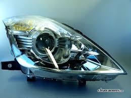 nissan headlights 06 08 nissan z33 350z fairlady z u2014 white super led headlights