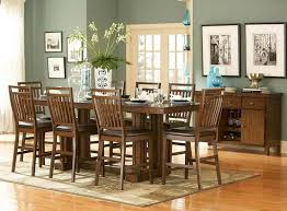 counter height dining table set round boundless table ideas