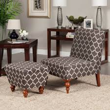 Accent Chair With Ottoman Susan Armless Accent Chair Ottoman Set Ottomans Traditional