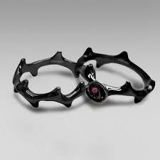 Gothic Wedding Rings by 154 Best Gothic Wedding Rings Images On Pinterest Gothic Wedding